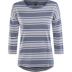 Patagonia Shallow Seas Top met 3/4 mouwen Dames, lightning stripe: dolomite blue
